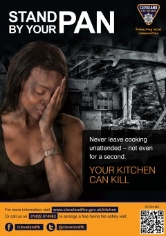 102753 - Kitchen Safety Posters A4 - 1 Pan