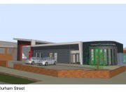 Headland Fire Station - Option3