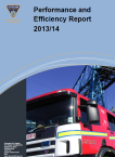 Performance and Efficiency Report 2013-2014 (PDF)