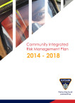 Community Integrated Risk Management Plan 2014-2018