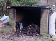 Shed arson