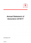 Annual Statement of Assurance 2016-17 (PDF)