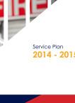 Service Plan 2014-2015 (PDF)