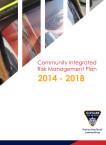 Community Integrated Risk Management Plan 2014-2018