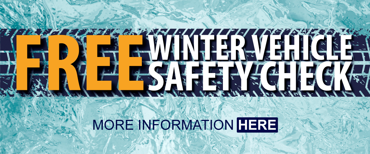 Free winter vehicle safety check - more information here