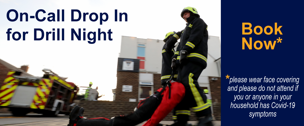 On-Call Drop In for Drill Night with crew members carrying out exercise