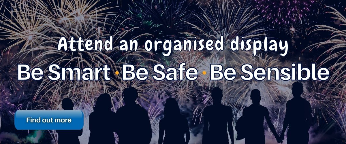 Attend an organised display - Be Smart, be safe, be sensible