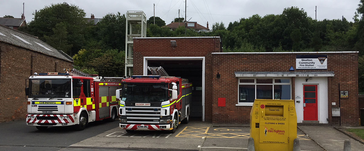 Skelton Fire Station