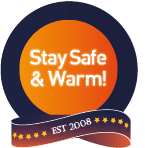 stay safe and warm establish 2008 logo