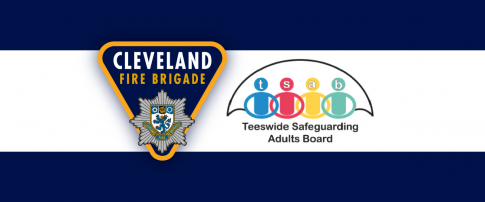 Teeswide Safeguarding Adults Board and Cleveland Fire Brigade logos