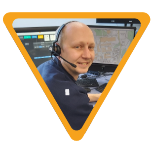 image of dave gormley - oncall fire control operator