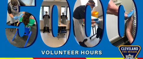 5000 volunteer hours